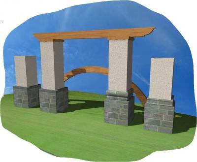 jpg colum stone bot stucco top banding cap.JPG