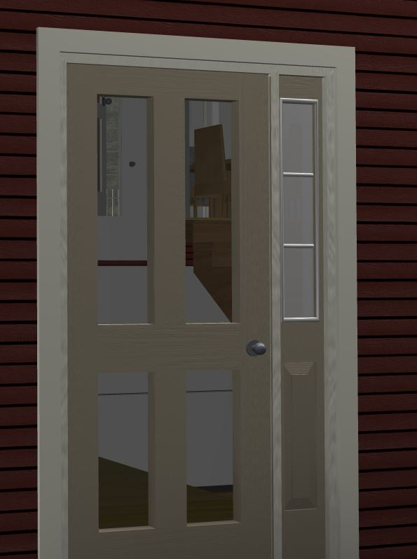 door panels clear.JPG & Panels in doors are clear - SoftPlan 2016 - SoftPlan Users Forum