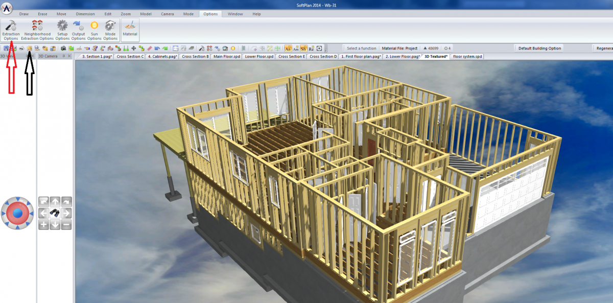 Viewing Framing Only - Guest Questions - SoftPlan Users Forum