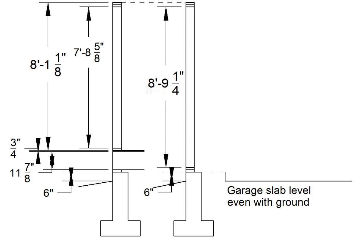Standard Stud Height Softplan 2016